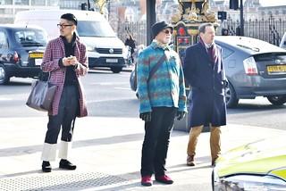London Fashion : The generation game....