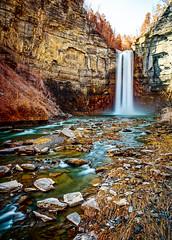 Taughannock Falls (Brett of Binnshire) Tags: usa falls waterfall river locationrecorded water stream newyork mountains ulysses cliff scenic taughannockfalls taughannockpark