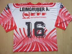 #16 A. LEIMGRUBER Game Worn Jersey (kirusgamewornjerseys) Tags: ice hockey italia italy game worn jersey ksv kaltern