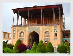 Aali Qapu Palace . Isfahan (naghsh-e jahan) . Iran (mohamadhsn) Tags: olympus em5 voigtlander 25mm aaliqapupalace isfahan naghshejahan iran smjh1994