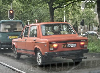 1978 FIAT 128 Abarth 1300 While Driving