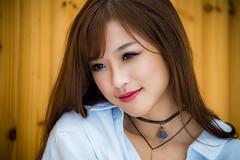 Smile. (Axim2013) Tags: taipei taipeicity taiwan tw nikon nikond810 color photo girl jessicaxiaozhu myphotoproject raykwa smile