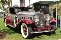 7th Annual San Marino Motor Classic (USautos98) Tags: 1930 cadillac caddy caddie 452 v16 roadster