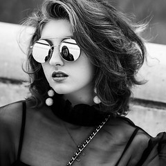 Seoul (ale neri) Tags: street bw portrait people asian korean girl model fashionweek seoul korea aleneri blackandwhite alessandroneri