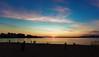 За секунду до захода (vikkay) Tags: геленджик закат пляж море вечер солнце небо горизонт