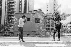 Dupla exposição (Beatriz_Roveri) Tags: canonrebel2000 kodak tx trix 400iso bw black white pb overlap double exposure sp yashica 108 mp