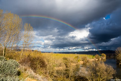 Después de la tormenta (cvielba) Tags: valladolid arcoiris canal castilla pisuerga