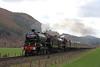 1264 + 45699 - Dunkeld (Andrew Edkins) Tags: 1264 45699 lms lner stanier dunkeld thegreatbritainxi railwayphotography travel trip doubleheader steamtrain scotland highlands april 2018 spring uksteam railtour excursion light canon