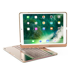 "360º Rotation 7 Colors Backlight Bluetooth Aluminum Keyboard Case For iPad Pro 10.5"" (1282495) #Banggood (SuperDeals.BG) Tags: superdeals banggood apple accessories 360º rotation 7 colors backlight bluetooth aluminum keyboard case for ipad pro 105 1282495"
