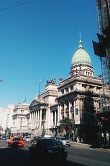 Palacio del Congreso - Buenos Aires, Argentina (CABA) (vanesastephani) Tags: argentina palacio congreso buenosaires city architecture street urban sky