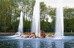 Bassin Apollon. Jardins de Versailles. Avril 2018. (jonathanlaurent) Tags: bassin apollon versailles chateau jardin louis xiv roi eaux fontaine