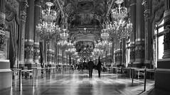 Opéra Garnier (KPPG) Tags: opéragarnier paris frankreich france architektur architecture bw sw 7dwf monochrome europa europe