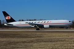 C-GYAJ (CargoJet) (Steelhead 2010) Tags: cargojet cargo boeing b767 b767300er yhm creg cgyaj