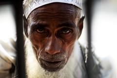 Haunt Humanity (N A Y E E M) Tags: abdurrabb oldman disabled beggar portrait light today afternoon friday fence street laalkhanbazaar chittagong bangladesh