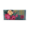 41633592651_be25d5565c_k (Kitty Came Home) Tags: kittycamehome bifoldclutch barkcloth handmade samade wellmade purse wallet clutch rose