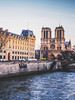 Winter on the Seine (Dan Haug) Tags: cathédrale france fujifilm laseine notredame notredamedeparis paris seine travel xt1 xf23mm xf23mmf14r historic river îledelacité cathedral catholic