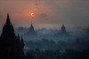 Bagan at dawn (Tati@) Tags: bagan alba pagode luce nuvole clouds dawn light