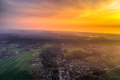 The village of Schoorl and the North Sea. (Alex-de-Haas) Tags: dji dutch europa holland nederland nederlands netherlands noordholland noordzee northsea phantom phantom4 phantom4pro schoorl uav aerial aerialphotography air drone landscape landschaft landschap lente lucht luchtfotografie polder sea skies sky skyscape spring sundown sunset village water zee zonsondergang warmenhuizen nl