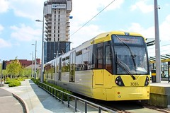 Manchester Metrolink 3031 (Mike McNiven) Tags: manchester metrolink tram lrv deansgatecastlefield stpeterssquare rochdale altrincham manchesterairport eccles ashton airport metro eastdidsbury didsbury oldham