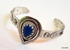 1-20180506_154739 (Ginny Mintz) Tags: silver sterling bracelet cuff blue chalcadony medivaldesign handcrafted oneofakind boho
