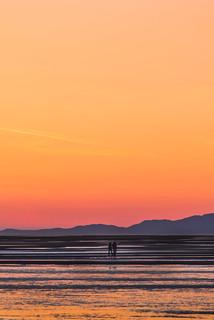 sunset walks on the beach🚶�♂�🚶�♀�