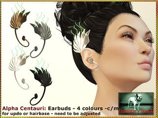 Bliensen - Alpha Centauri - earbuds