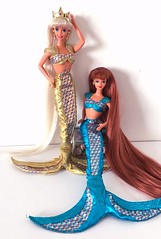 My treasures ✨ (an_drew_here) Tags: jewelhairmermaidmidge jewelhairmermaidbarbie midge mermaiddoll mermaid barbiedoll doll mattel barbie