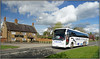Catteralls REL 188 (Jason 87030) Tags: coach staverton countyman pub wheels school service contract catteralls southam road april 2018 cat view scene village northants northamptonshire rel188