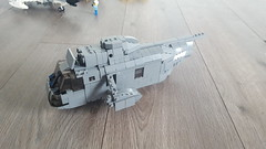 Lego Sea King WIP (joopatkleppie) Tags: us navy lego helicopter rescue aircraft carriers work progress vietnam era