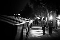 Paris, France (pas le matin) Tags: nb bw monochrome travel voyage city night ville capital paris france europe europa capitale nuit quaideseine seine bouquinistes canon 350d canon350d eos350d canoneos350d