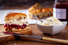 Jammy Scones (Dave Denby) Tags: scones jam cream strawberry afternoon tea