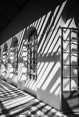 135/365: The Orangery (judi may) Tags: 365the2018edition 3652018 day135365 15may18 100xthe2018edition 100x2018 image33100 monochrome mono windows orangery architecture building door shadows light lines graphic patterns blackandwhite canon5d wrestpark bedfordshire shapes