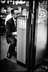 Shimbashi, Minato-ku, Tōkyō-to (GioMagPhotographer) Tags: tōkyōto peoplesingle shimbashi afterdark minatoku dining japanproject japan leicam9 minato tokyo tkyto