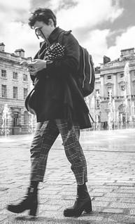 Head in the iclouds.   #loveoverentropy #edm #synthporn #portraitcentral #graphic #streetshot #portrait #friendsinperson #urbanphotographer #streetportrait #capturestreet #pursuitofportraits #menatwork #lightandshadow #urbangeometry #thisislondon #art #st
