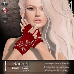 [[Masoom]] Rachel Gloves @ Tres Chic (AmberChaudry Corpur : Owner of [[ Masoom ]]) Tags: bento gloves maitreya belleza slink hourglass physique second life masoom monsoon masoon massoom amber freya isis
