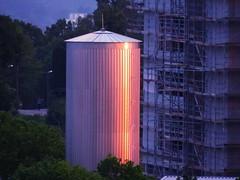 Sunset lights and energy (eagle1effi) Tags: swt stadtwerke kraftwerk viehweidle baustelle sx60 best sx60best