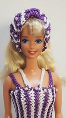 Old Barbie 7.2 (ЕТВ) Tags: barbie doll knitting fasion crochet crocheting