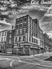 Rambo's (otissmith4) Tags: blackandwhite bw manchester monochrome buildings hdr street streetphotography england northernquarter nq urban mcr photomatix