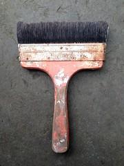 Fleetwood paintbrush (Mary Hutchison) Tags: brush fleetwood old paintbrush ireland bristle vintage