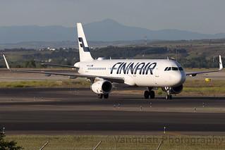OH-LZP Finnair A321-200 Madrid Barajas