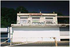 The Esplanade_ (exreuterman) Tags: buildings derelict southend seafront canon eos1n 28mm lens ef fuji 35mm film c200 polariser grad nd