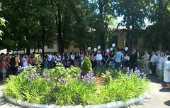180518-03 Православная молодёжь Нальчика приняла участие в траурном митинге