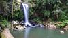 Curtis Falls (Greenstone Girl) Tags: goldcoast queensland river rainforest tamborinemountain plants blue sparkle waterfall curtis pond creamy green