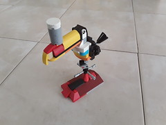 20180208_105358 (LegoOri) Tags: lego toy toys construction toucan guinness beer stout weathervane bird rooftop