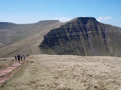 Sandstone giant (David Howarth_08) Tags: mountain landscape brecon beacons sky hiking