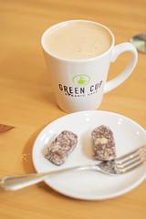 IMG_8640 (fabianamsolano) Tags: green cup cafe vegan raw coffee espresso wrap vegetables dessert happy boba tea