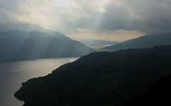 Loch Lomond (DaveSinclair) Tags: mountain mountains dark scotland hill hills loch sunbeam lochlomond sunbeams hillwalking munro benvorlich saveit deleteit2 saveit3 saveit1 deleteit3 deleteit4 deleteit5 deleteit6 deleteit7 deleteit8 deleteit9 deletit therandomselection