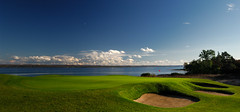 CobbleBeach_17_3997 (gallow_chris) Tags: travel ontario green nature water golf landscape bay sand nikon scenery natural earth d2x scenic course bunker golfcourse environment terra tee owensound semiprivate warth ferma chrisgallow nikoncapturenx cobblebeach chrisgallow allrightsarereserved