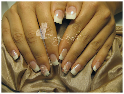 nail art gallery, french silk manicure, nail art designs, nail polish gallery, French pedicure nail art designs gallery, nail polish, nail art designs gallery