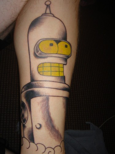 Bender tattoo by calculons evil twin. From calculons evil.